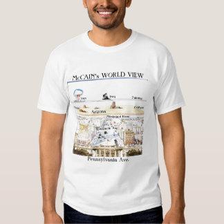 McCain's World View Shirt