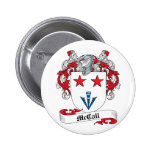 McCall Family Crest 2 Inch Round Button
