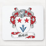 McCall Family Crest Mouse Mats