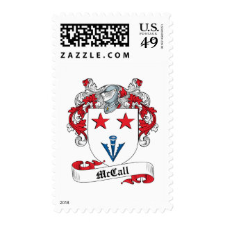 McCall Family Crest Postage
