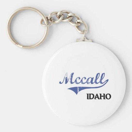 Mccall Idaho City Classic Key Chain