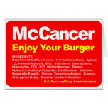 McCancer Greeting Card