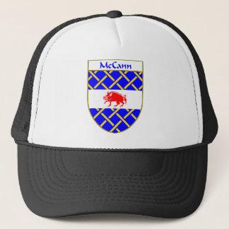 McCann Coat of Arms/Family Crest Trucker Hat