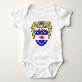 McCann Coat of Arms (Mantled) Baby Bodysuit