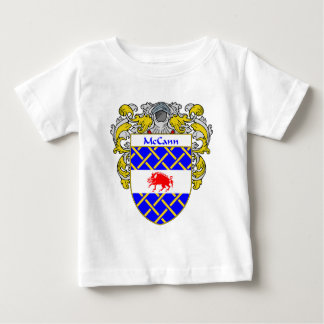 McCann Coat of Arms (Mantled) Baby T-Shirt