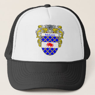 McCann Coat of Arms (Mantled) Trucker Hat