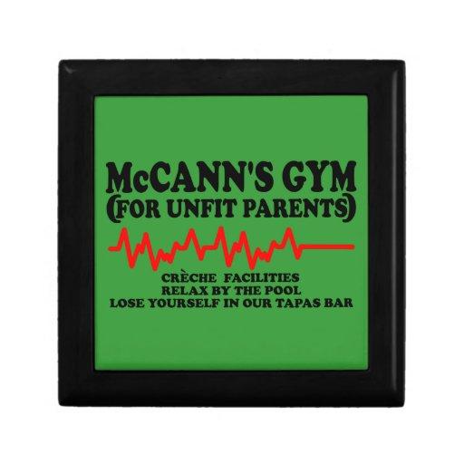 McCann divertido Joyero Cuadrado Pequeño