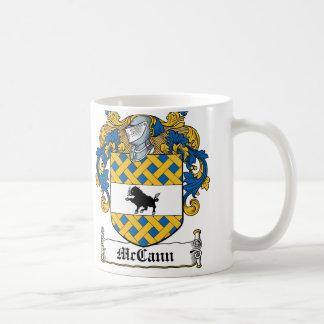 McCann Family Crest Coffee Mug