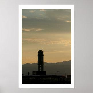 McCarran Tower Poster
