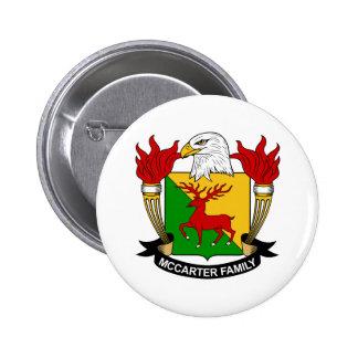 McCarter Family Crest Pin