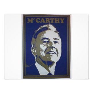Mccarthy 1968 invitación