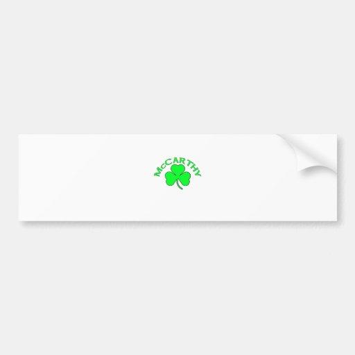 McCarthy Bumper Sticker