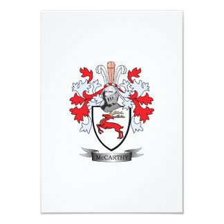 McCarthy Coat of Arms Card