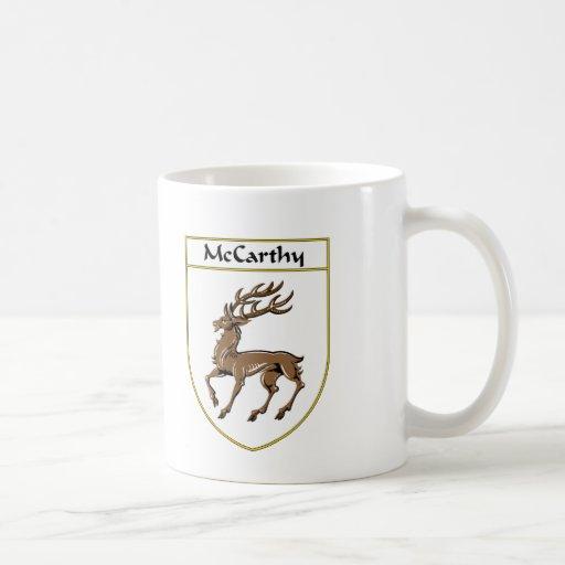McCarthy Coat of Arms/Family Crest Classic White Coffee Mug
