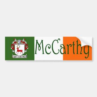 McCarthy Coat of Arms Flag Bumper Sticker Car Bumper Sticker