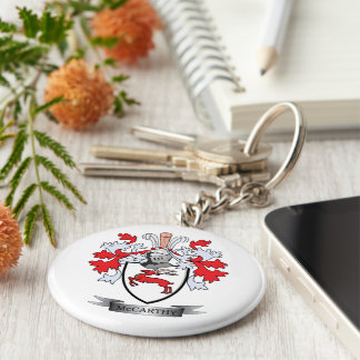 McCarthy Coat of Arms Keychain