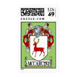 McCarthy Coat of Arms Postage Stamps