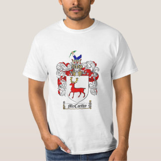 Mccarthy Family Crest - Mccarthy Coat of Arms Tee Shirt