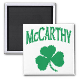 McCarthy  Irish 2 Inch Square Magnet