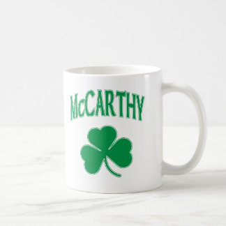 McCarthy  Irish Classic White Coffee Mug