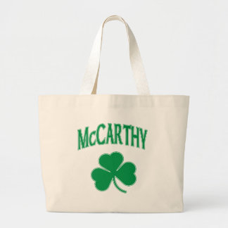 McCarthy  Irish Jumbo Tote Bag
