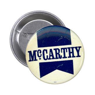 McCarthy para el presidente - botón Pins