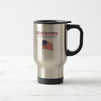 McCarthy para la bandera americana patriótica Desi Taza De Café