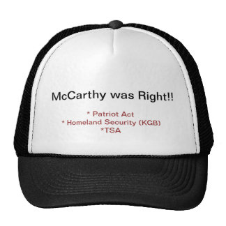 McCarthy was Right Trucker Hat