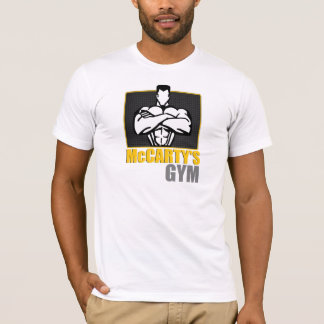 McCARTY GYM work out T-Shirt