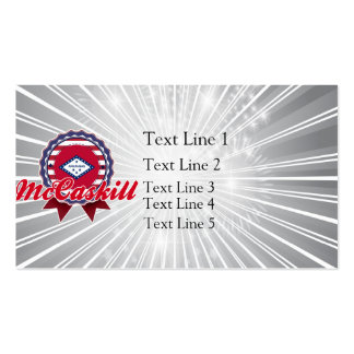 McCaskill, AR Double-Sided Standard Business Cards (Pack Of 100)