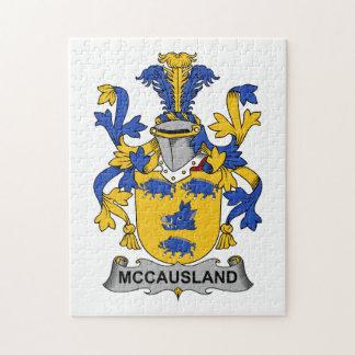 McCausland Family Crest Jigsaw Puzzle
