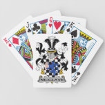 McClave Family Crest Bicycle Playing Cards