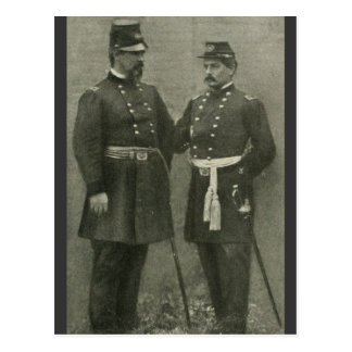 McClellan and McDowell Post Cards