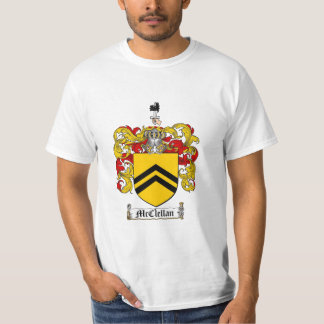 Mcclellan Family Crest - Mcclellan Coat of Arms T-Shirt