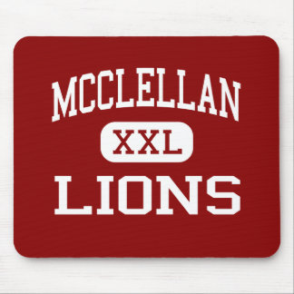 McClellan - Lions - High - Little Rock Arkansas Mouse Pad