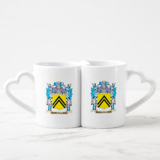 Mcclelland Coat of Arms - Family Crest Couples' Coffee Mug Set