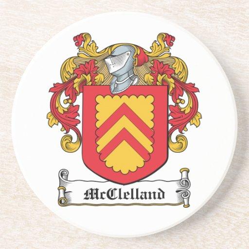 McClelland Family Crest Coasters