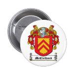 McClelland Family Crest Pins