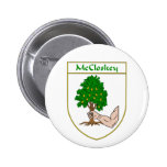 McCloskey Coat of Arms Button