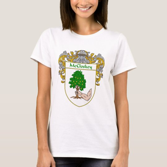 McCloskey Coat of Arms (Mantled) T-Shirt