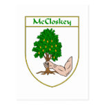 McCloskey Coat of Arms Postcards