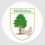 McCloskey Coat of Arms Sticker