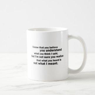 McCloskey on Understanding Coffee Mug