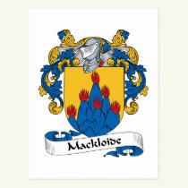 McCloud Family Crest Postcard