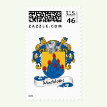McCloud Family Crest Stamps