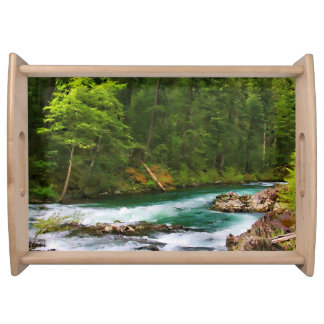 McCLOUD RIVER Serving Tray
