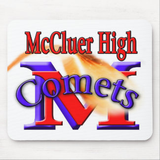 McCluer High Arched Comet Mousepad