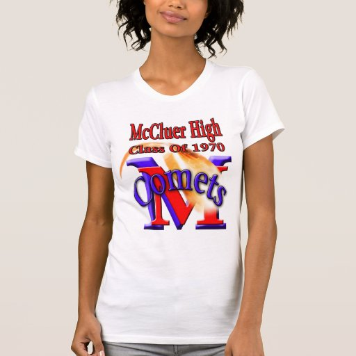 McCluer High Class of 1970 with Comets T-Shirt