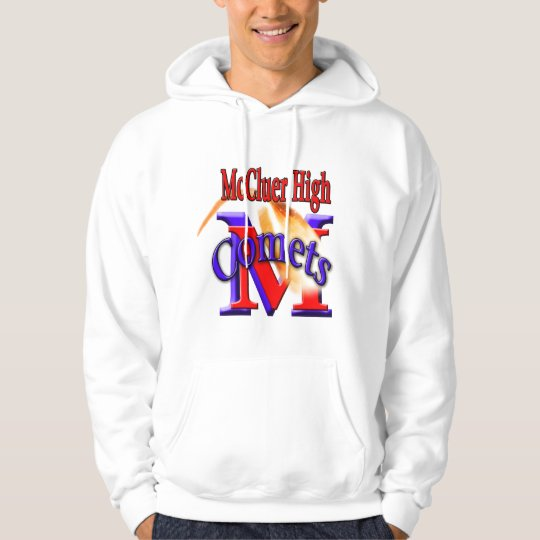 McCluer High Comet Arched Hoodie