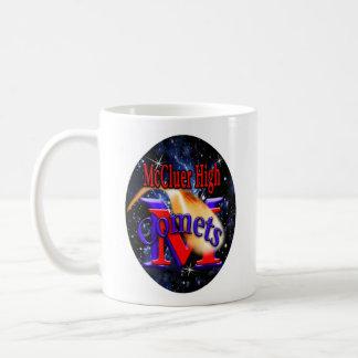 McCluer HighComet arching through starfield Coffee Mug